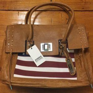 🆕 Aimee Kestenberg Washington Tote Hand Bag